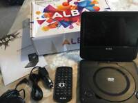 Alba 7inch portable DVD player