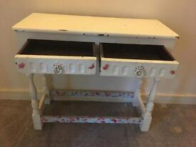 Sabby Chic Side Unit/Dressing Table