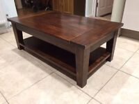 Wooden coffee table in good condition