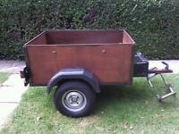 Car box trailer 5x3