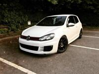 Volkswagen Golf MK6 3 Door Manual GTi Candy White 2009 (A3/A4/Leon/Ibiza/Fiesta/Focus)