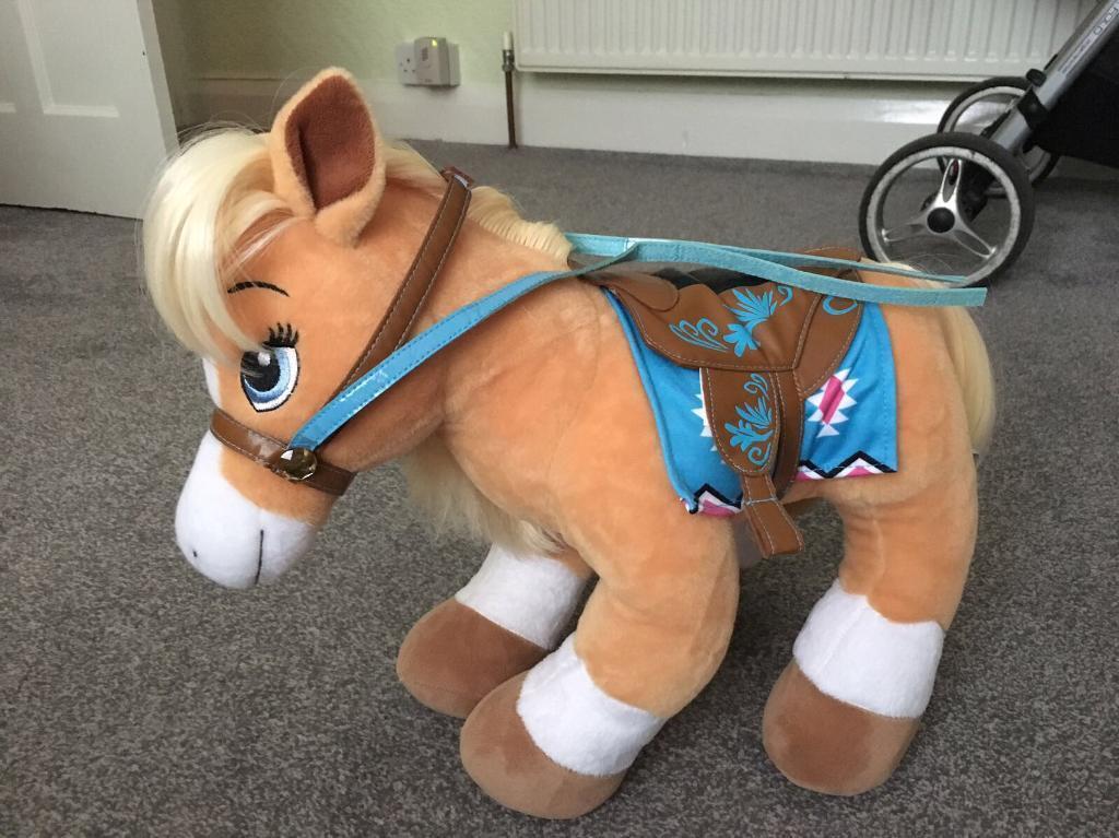 Build a Bear Palamino Horse