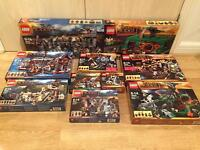 Collection of brand new, sealed Lego Hobbit sets, including The Unexpected Gathering