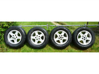 4 Land Rover Discovery 2 wheels and tyres