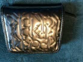 Brand new silver Calvin Klein purse