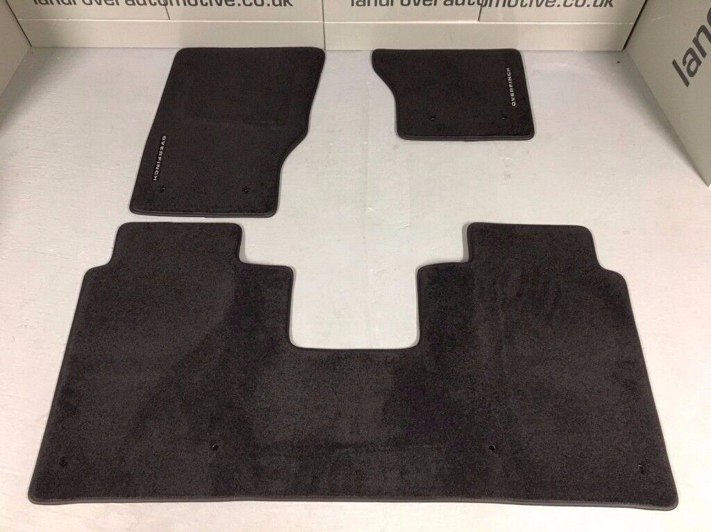 RANGE ROVER L405 OVERFINCH CARPET MATS BLACK LWB GENUINE NEW 2013-2016