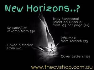 Perth Resume Writer, Selection Criteria, Cover Letters and CVs Perth Region Preview