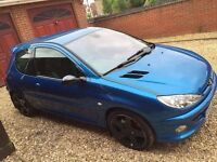 206 GTi 180, low miles, service history
