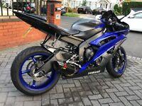 Yamaha YZF R6 2014 13S Race Blue / Matte Grey