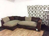 New dfs madison corner sofa**Free delivery**