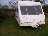 sterling moonstone 4 berth 2003 with full end shower room awning in first class condition