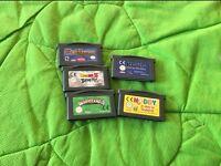 Gameboy 5 games