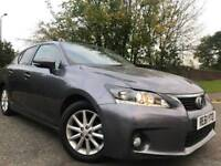 LEXUS CT200H HYBRID (61 PLATE) ***AUTOMATIC - SAT NAV - BLUETOOTH - HEATED SEATS*** LONG MOT