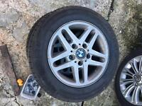 BMW e46 15 in wheels x3