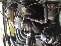 BMW E28 525e M20B27 engine and gearbox E30, E34, E21