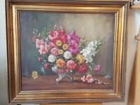 Oil painting on convas 'Still Life with Flowers'