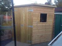 Garden shed 8x4