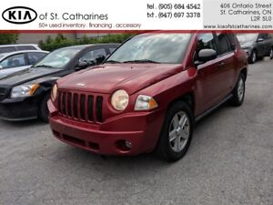 2007 Jeep Compass Sport as Traded