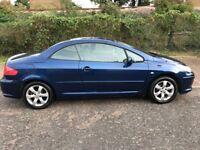 2006 Peugeot 307 CC 1.6 16v S 2dr Manual @07445775115