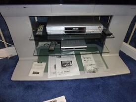 Panasonic 37 inch tv with stand and DVD