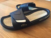 Lacoste sandals in size 9