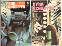 Alan Moore V for VENDETTA 1 – 10 Complete HIGH GRADE