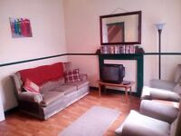 3/4 bedroom house to let on Falls Road. Good location, furnished and with all mod cons