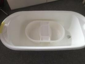 Baby bath & top/tail bowl