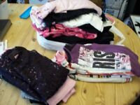 bundle of girls clothes age 5-6 years