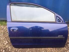 Vauxhall Corsa c drivers door 3 door