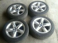 """MK2 FORD FOCUS 16"""" ALLOY WHEELS WITH TYRES 205/55/R16"""