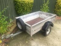 Wessex very strong trailer + spare wheel (same as ifor Williams)