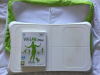 Wii fit board with wii fit plus and carry bag