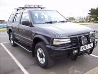 Vauxhall Frontera 2.2 i long wheel base estate 1995 petrol manual