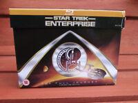 Star Trek Enterprise Blu-ray box set.