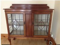 REDUCED - Beautiful Vintage Display Cabinet- for quick sale