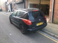 PEUGEOT 207 SW 8FS DAMAGED SALVAGE BREAKING SPARE PARTS 2007-2012