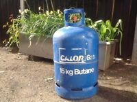 BBQ Gas Bottle Butane 15kgs (very full) collection Eastleigh