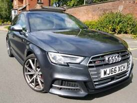 AUDI S3 2.0 QUATTRO MY66 S TRONIC 5DR FULLY LOADED **VIRTUAL COCK PIT SUPER SPORTS NAV PAN