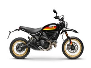 2018 Ducati Scrambler Desert Sled Black