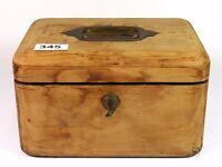 A Victorian jewellery box, dated 1893, 23cm x 16cm x 13cm.