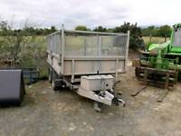 Nugent tipping trailer