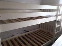Solid bunk beds