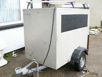 BOX TRAILER,LOCKABLE.FREE DELIVERY LOCAL TO NEW MILTON