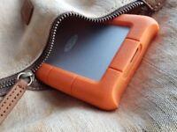 LaCie Rugged Mini 1TB USB 3.0 Portable External Hard Drive