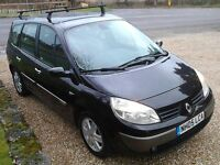 7 Seat (05 Plate) Renault Grand Scenic Dynamique MPV, Ideal Family Car, Long MOT, Low Mileage