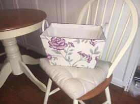 NEW Laura Ashley Hamper Gift Storage Basket