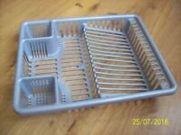 Plastic Silver Washing Up Drainer -Free To Collect