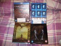 Game of Thrones Series 1-7, Blu Ray sets, like new condition