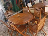 Garden furniture tables and chair sets great quality teak furniture